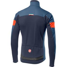 Castelli Transition Veste Homme, light steel blue/orange